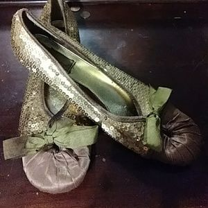 Womens Glitter shoes